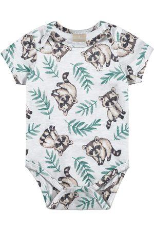 MILON Bebê Body - Body Bebê Masculino Mescla
