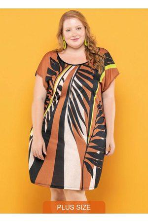 Vinculo Basic Mulher Vestidos - Vestido Plus Size