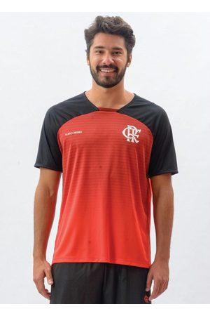 Braziline Camiseta Flamengo Shadow Vermelha