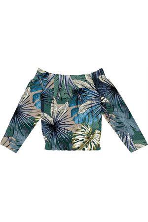 Endless Mulher Blusa - Blusa Feminina Ciganinha Estampada