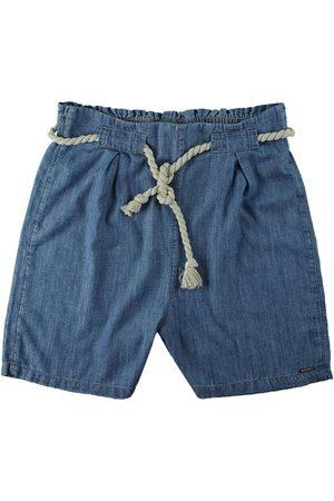 Malwee Mulher Short - Shorts Claro Clochard Jeans Liocel Feminino