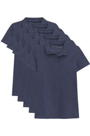 Basicamente Kit de 5 Camisas Polo Femininas
