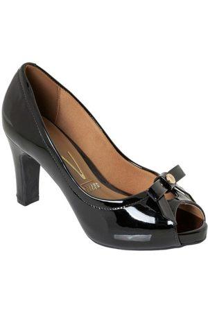 VIZZANO Mulher Scarpim & Peep toe - Sapato com Detalhe de Laço