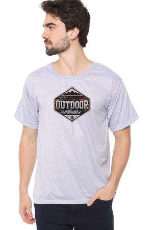 Eco Canyon Homem Manga Curta - Camiseta Masculina Outdoor
