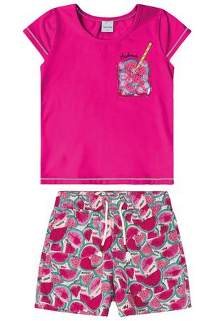 Rovitex Kids Conjunto Blusa com Shorts