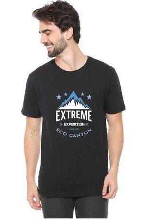 Eco Canyon Homem Manga Curta - Camiseta Masculina Extreme Expedition P