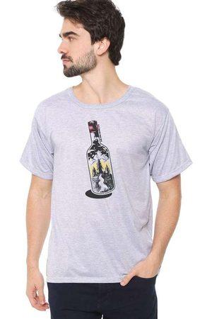 Eco Canyon Homem Manga Curta - Camiseta Masculina Garrafa