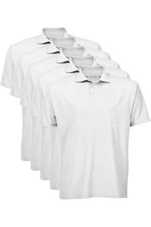 Basicamente Homem Camisa Formal - Kit de 5 Camisas Polo Masculinas