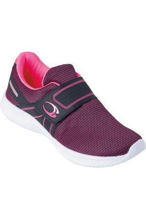 QUEIMA ESTOQUE Mulher Sapatos Esporte - Tênis Rosa com Velcro