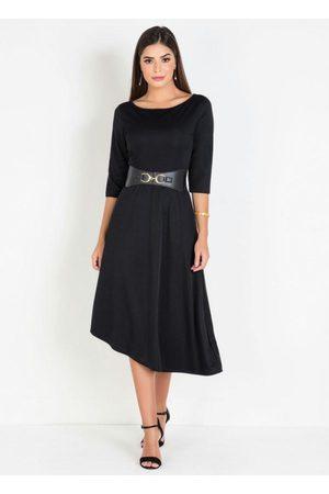 ROSALIE Vestido Mullet Moda Evangélica