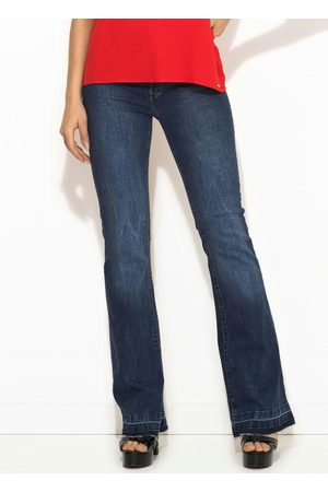 Sacada Mulher Calça Flare - Calça Jeans Flare