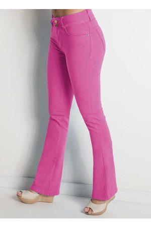 Janine Calça Flare Pink