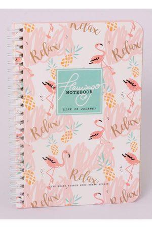 QUINTESS Caderno Flamingos e Abacaxi