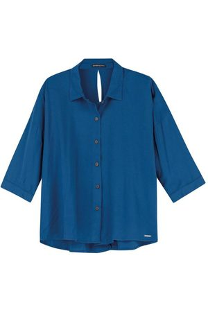ENFIM Mulher Camisete & Outerwear - Camisete com Abertura