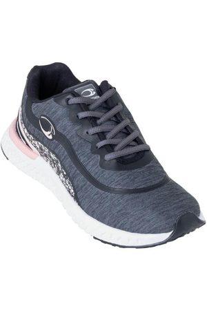 QUEIMA ESTOQUE Mulher Sapatos Esporte - Tênis Grafite em Tecido Estampado