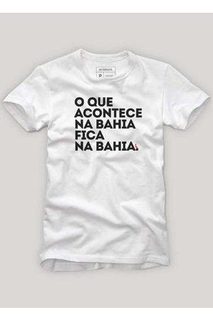 Reserva Homem Manga Curta - Camiseta o que Acontece na Bahia B
