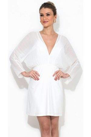 Colcci Mulher Vestidos - Vestido Curto Detalhe Plissado
