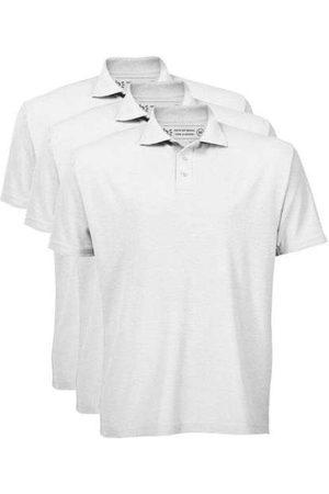 Basicamente Kit de 3 Camisas Polo Masculinas