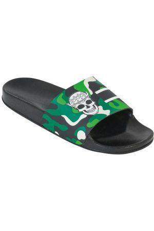 QUEIMA ESTOQUE Homem Chinelos - Chinelo Slide com Estampa Camuflada