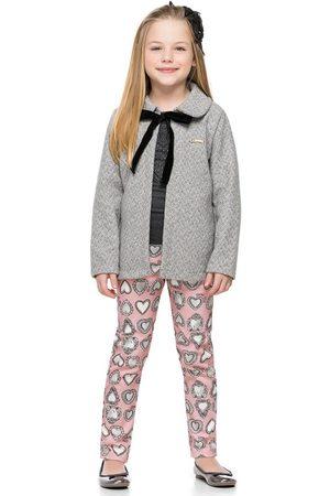Quimby Menina Casacos - Casaco Infantil em Tweed