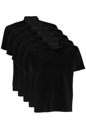 Basicamente Kit de 5 Camisas Polo Masculinas