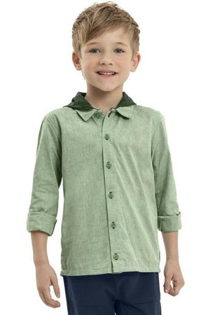 Quimby Menino Camisa Manga Comprida - Camisa Infantil Manga Longa