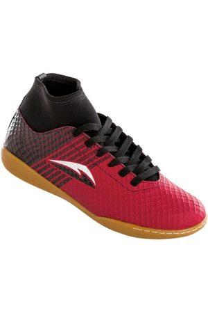 QUEIMA ESTOQUE Chuteira Botinha Vermelha para Futsal