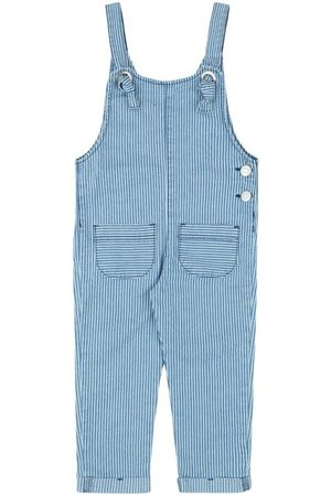 Momi Menina Jardineira - Jardineira Jeans