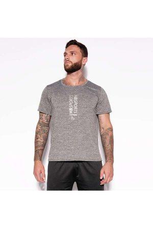 Honeybe Homem Camiseta - Camisa Dry Hb Sports Mesclada Bl300