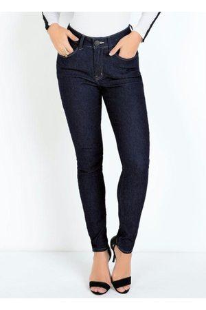 Eventual Mulher Calça Skinny - Calça Jeans Skinny com Cinta Modeladora