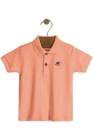Up Baby Camisa Polo Infantil Claro