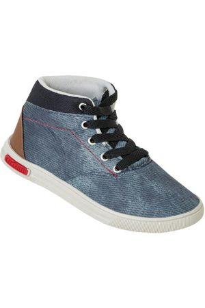 QUEIMA ESTOQUE Menino Tênis - Tênis Urban Jeans de Cano Alto