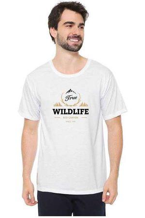 Eco Canyon Camiseta Masculina Wildlife Whit