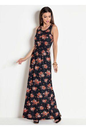 QUEIMA ESTOQUE Mulher Vestido Estampado - Vestido Longo Jessica Floral