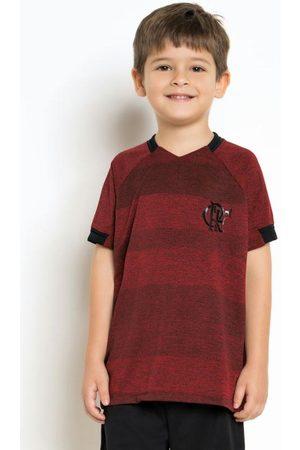 Braziline Camiseta Infantil Flamengo Vision Vermelha