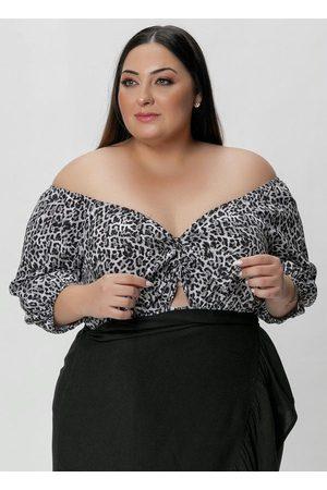 Mink Mulher Body - Body Plus Size Estampado