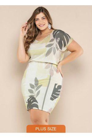 Vinculo Basic Vestido Plus Size