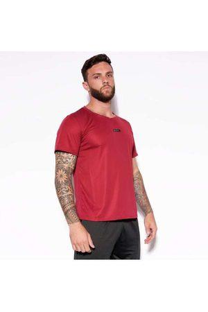 Honeybe Homem Camiseta - Camisa Dry Hb Sports Vinho Bl304