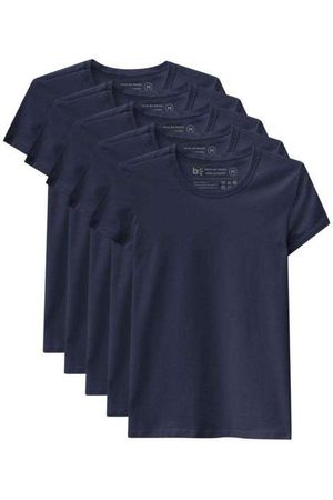 Basicamente Mulher Camiseta - Kit de 5 Camisetas Babylook Básicas
