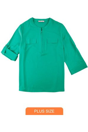 Wee Malwee Camisa em Crepe com Zíper