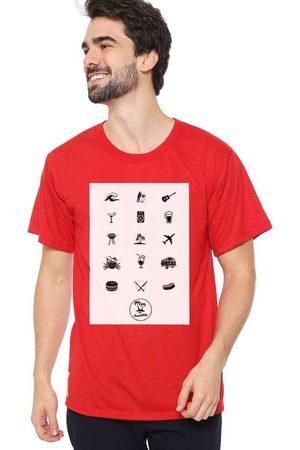 Eco Canyon Homem Manga Curta - Camiseta Masculina The Summer