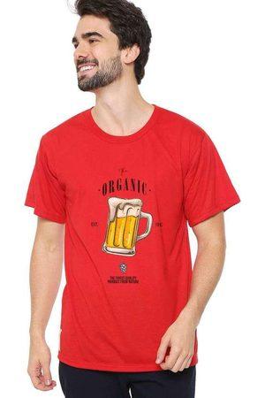 Eco Canyon Camiseta Masculina Beer Red