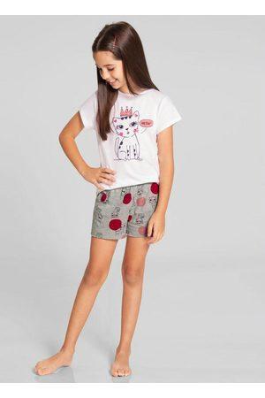 Alakazoo Pijama Meia Malha Mescla