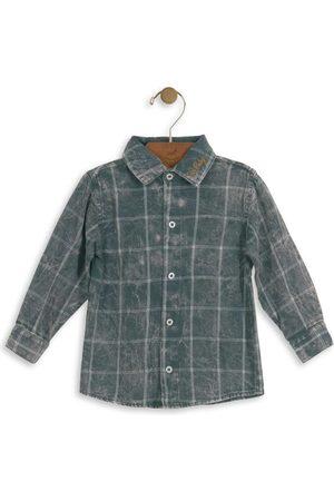 Up Baby Camisa Xadrez Infantil