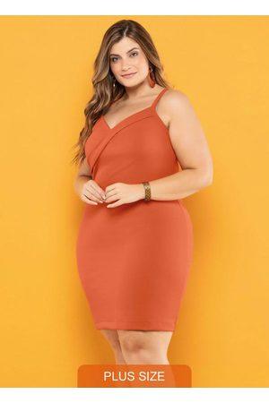 Vinculo Basic Mulher Vestidos - Vestido Plus Size Alça