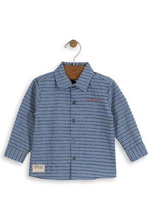 Up Baby Camisa Listrada Infantil