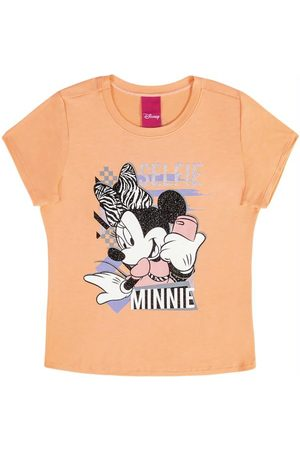 Disney Menina Camiseta - Blusa com Estampa Frente e Costas
