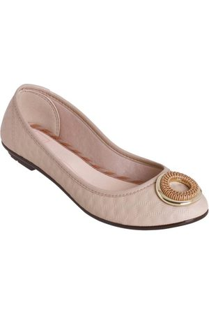 MOLECA Mulher Sapatilhas - Sapatilha com Detalhe Dourado
