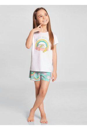 Alakazoo Menina Meias - Pijama Meia Malha