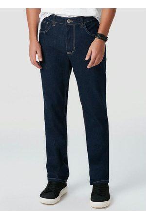 Malwee Homem Calça Skinny - Calça Escuro Skinny Flex Jeans
